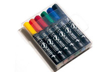 Setaskrib Set of 6 Basic Fabric Markers