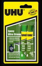UHU Epoxy Ultra Strong Glue - 2 x 10ml