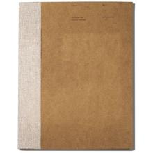 O-Check Design Sketchbook 176pgs - 20.5cm x 29cm - Brown