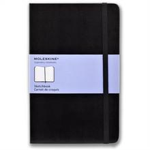 Moleskine Sketchbook 80 Pages Hardcover - Large (13cm x 21cm)