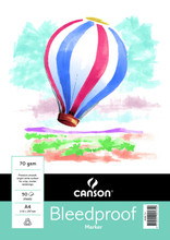 Canson 75GSM Bleedproof Pad - A4
