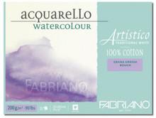 Fabriano Watercolour 200GSM Rough Block - 30.5 x 51cm