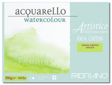 Fabriano Watercolour 300GSM Rough Block - 45.5 x 61cm