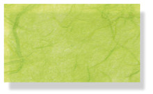 Mulberry Silk Paper With Fibres - Spring Green