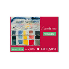 Fabriano Maxi Blocco Accademia Drawing and Watercolour 240GSM Pad - 27cm x 35cm