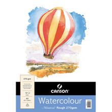 Canson Montval 270GSM Watercolour Pad - A3