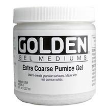 Golden Extra Coarse Pumice Gel 236ml
