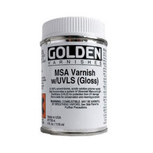 Golden MSA Varnish with UVLS (Gloss) 473ml
