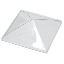 Transparent PET-G Pyramid Dome - 50mm x 50mm x 15mm