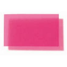 Translucent Coloured Polypropylene Matte - Raspberry