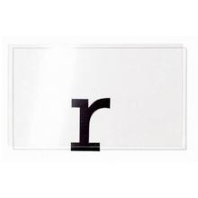 Transparent Colourless Rigid PVC
