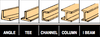 Basswood Structural Shape Comparisons