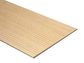 Basswood Scribed Sheathing 0.040 inch spacing