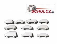 Polystyrene Cars White - 1:200