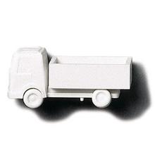 White Polystyrene Lorry Open Body - 1:200
