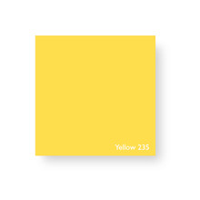 Acrylic Perspex Sheet 400mm x 800mm x 2mm - Yellow