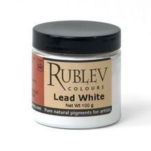 Rublev Colours Dry Pigments 100g - S4 Lead White