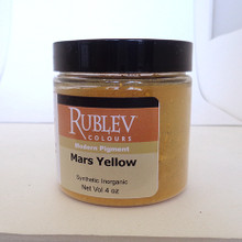 Rublev Colours Dry Pigments 100g - S1 Mars Yellow