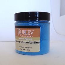 Rublev Colours Dry Pigments 100g - S5 Cobalt Chromite Blue
