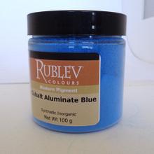 Rublev Colours Dry Pigments 100g - S5 Cobalt Aluminate Blue