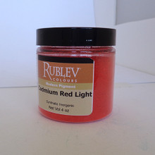 Rublev Colours Dry Pigments 100g - S6 Cadmium Red Light