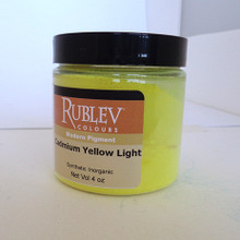 Rublev Colours Dry Pigments 100g - S7 Cadmium Yellow Light