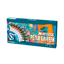 Matisse Structure Collection - 10 x 75ml Petter Griffin Signature
