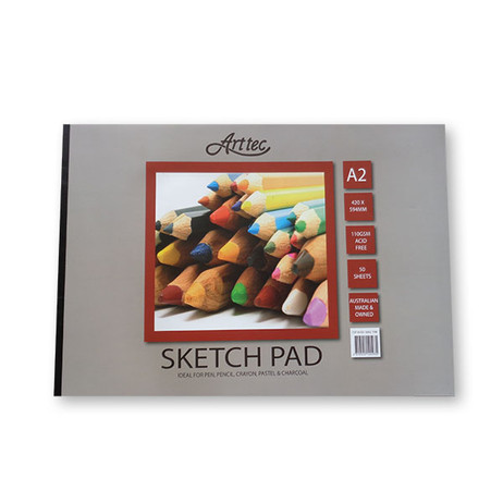 Arttec Cartridge Sketch Pad 110GSM 50 Sheets - A2