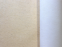 "Double Primed Polycotton 50% Polyester 50% Cotton Roll 12oz 72"" (1.82m x 30m)"