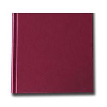 "K&P Hardbound Sketchbook 100gsm 176pgs - 21cm x 21cm/8.3"" x 8.3"" - Red"