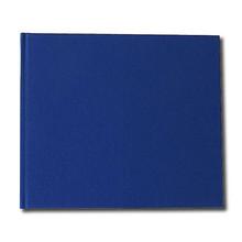 """Watercolour Paper Sketchbook 160gsm 120pgs - 24cm x 20.6cm/9.4"""" x 8.1"""" Landscape - Blue"""