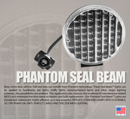 Phantom Seal Beam Light - Multicolor White
