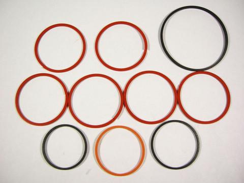 TH400 TH425 Oil Sealing Ring Kit Turbo 400 10 Teflon Transmission Rings