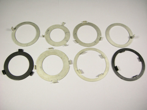 TH350 TH350C Thrust Washer Kit Turbo 350 1969-1986 8 Washers