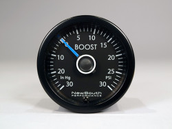 Newsouth Performance 'VW White/Blue' Boost Gauge - GAU016