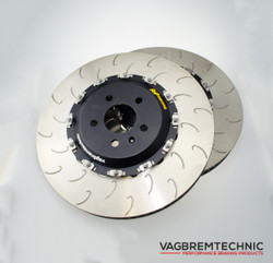 Vagbremtechnic Direct Replacement 2-Piece Front Brake Discs - Audi RS6 (C6)