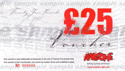 Awesome å£25 Gift Voucher
