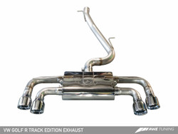 AWE Tuning Mk7 Golf 'R' Track Edition Exhaust System