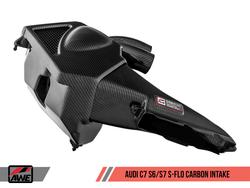 AWE Tuning S-FLO Carbon Fibre Intake Kit - S6 / S7 4.0TFSI