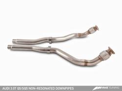 AWE Tuning Audi SQ5 3.0TFSI Non-Resonated Downpipes