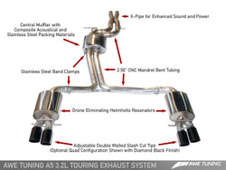 AWE Tuning Audi A5 3.2FSI Touring Edition Exhaust