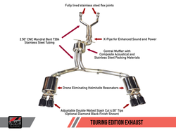 AWE Tuning S7 4.0T Touring Edition Exhaust