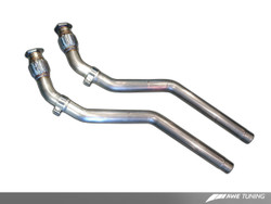 AWE Tuning S5 Coup̩ 4.2 Non-Resonated Downpipe Kit