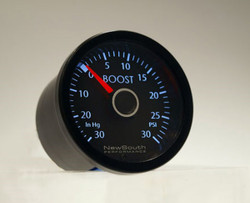 Newsouth Performance 'VW White' Boost Gauge - GAU011