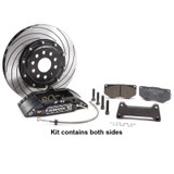 Tarox Front Big Brake Kit - Audi TT (8N) All models 98-06 - 340x26mm 2 piece