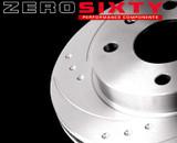 Zero Sixty Rear Brake Discs - VW Golf Mk2 (Priced Per Pair)