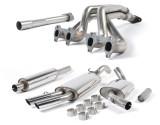 Milltek Classic Full Exhaust System (Inc Manifold) - Mk2 Golf GTI 16V