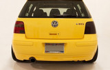 LaminX Tail Light Covers - Gun Smoke (12%) Golf Mk4
