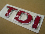 'TDI' Badge All In Red