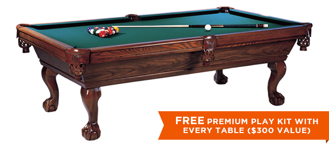 CONNELLY DURANGO POOL TABLE - Connelly billiard table